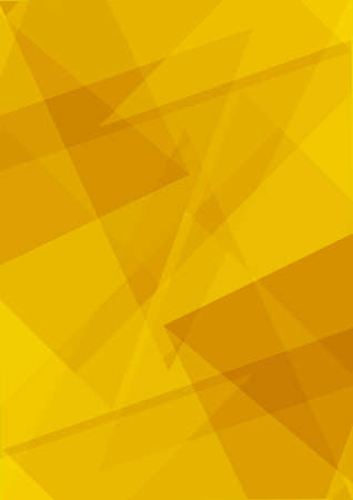 Photo pour Polygonal yellow stylish modern triangle shapes  abstract background mockup template. Polygons backgrounds .  - image libre de droit