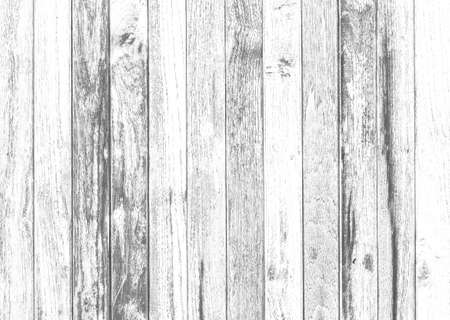 Photo pour old wood texture distressed grunge background, scratched white paint on planks of wood wall, seamless background - image libre de droit