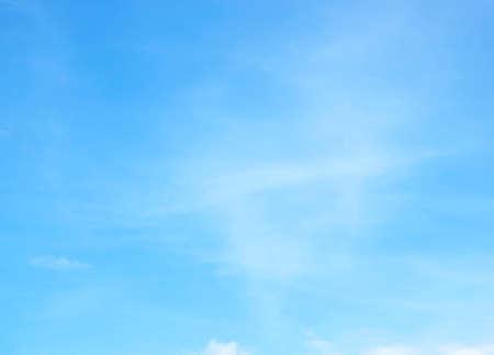 Foto de Blue sky with white clouds background nature - Imagen libre de derechos