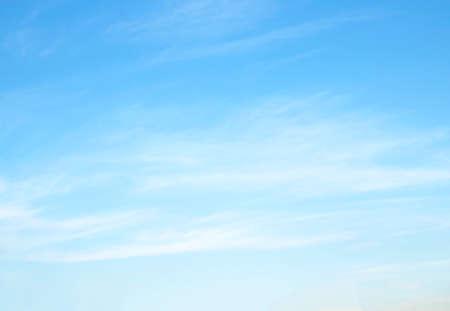 Photo pour blue sky with cloud  beautiful nature abstract - image libre de droit