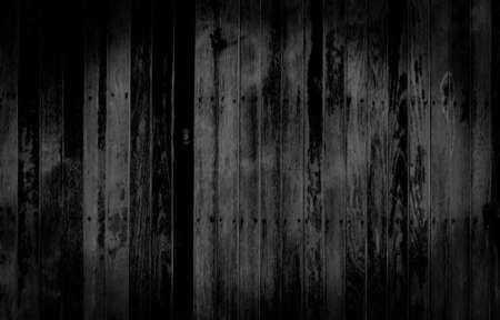 Photo pour Black Wood texture abstract background - image libre de droit