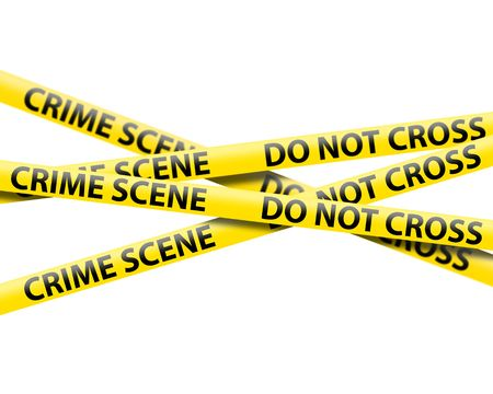 Photo for crime scene tape - Royalty Free Image