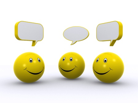 smiley chat 3d