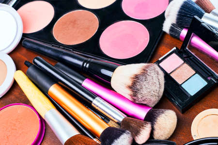 Photo for Makeup tools - Royalty Free Image