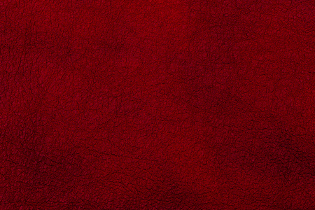 Photo pour Dark red leather surface as a background, leather texture. Skin - image libre de droit