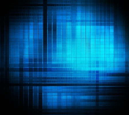 square background abstract of techno style