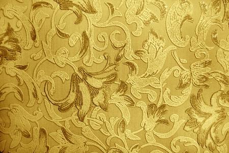retro luxury floral engraving wallpaper