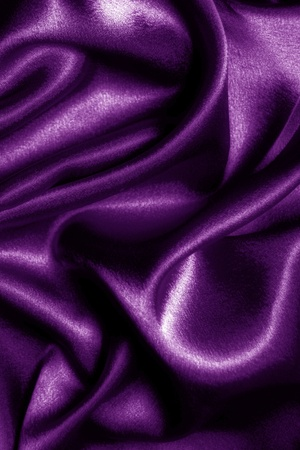 abstract fabric wavy purple silk