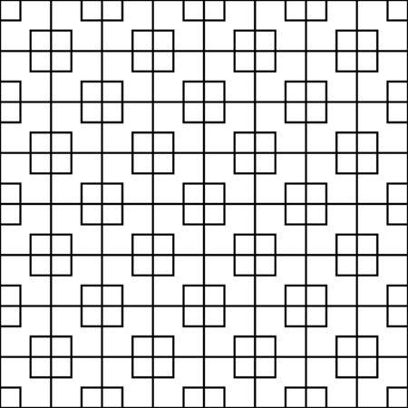 Illustration pour seamless abstract linear square pattern. luxurious design pattern. pattern for print, tiles, background, web - image libre de droit