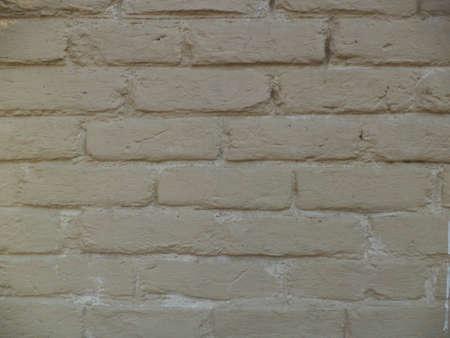 Wall made from bricks