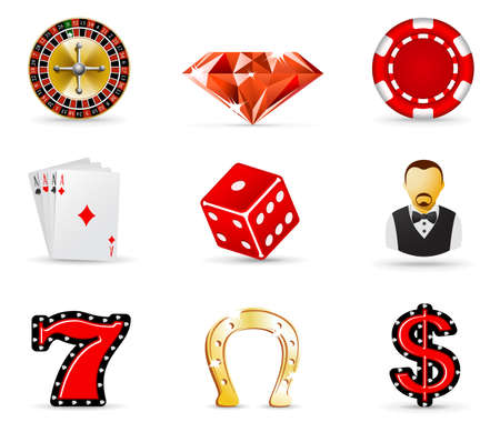 Casino and gambling iicons, part 1