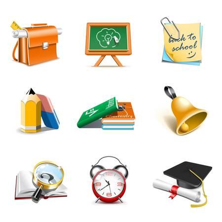 School icons | Bella series,  part 1