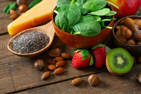 Photo pour healthy food concept - image libre de droit