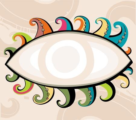 Decorative eye