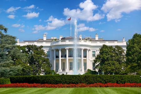 Foto de The White House in Washington DC, United States - Imagen libre de derechos