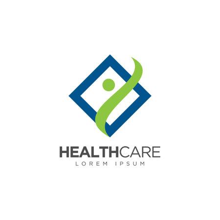 Ilustración de Medical Pharmacy Logo Design Template - Imagen libre de derechos