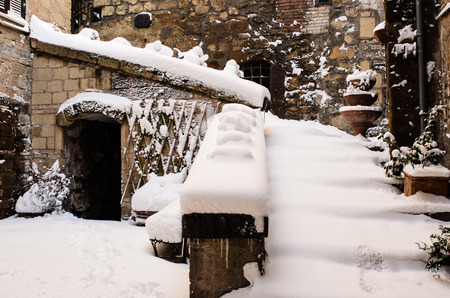 Foto per ancient innavato village - Immagine Royalty Free