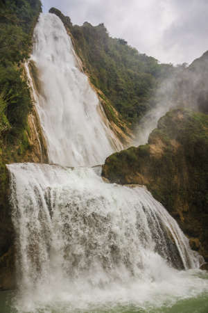 Water in motion, Chiapas Jungle. Mexico.