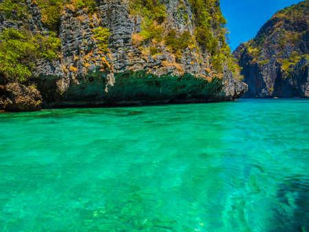 Photo pour Maya Bay, Thailand - image libre de droit