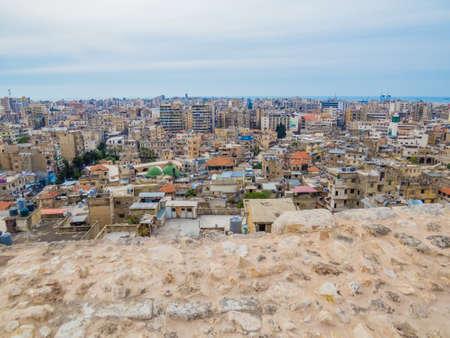 Photo pour View from the Tripoli Castle, Lebanon - image libre de droit
