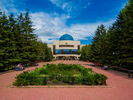 ASTANA, KAZAKHSTAN - JUNE 24, 2018: The Museum of the First President of the Republic of Kazakhstan.