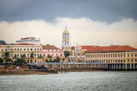 San Francisco de Asis Church in Casco Viejo - Panama City, Panama
