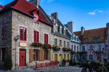 Place Royale (Royal Plaza) buildings - Quebec City, Canada