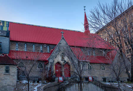 St. John the Evangelist Anglican Church (Red Roof Church) - Montreal, Quebec, Canada