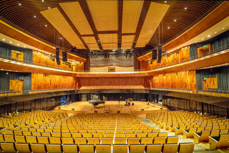 Symphonic Concert Hall known as the Blue Whale or Blue Whale at Kirchner Cultural Center CCK - Buenos Aires, Argentina