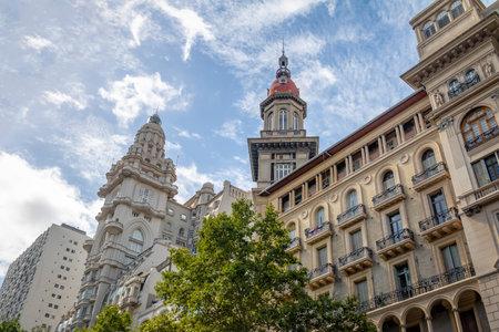 Barolo Palace (Barolo Palace) and La Inmobiliaria buildings - Buenos Aires, Argentina