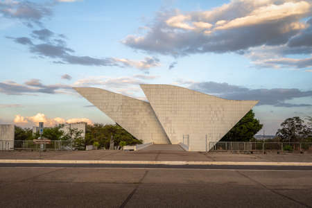 Tancredo Neves Pantheon of the Fatherland and Freedom at Three Powers Plaza - Brasilia, Distrito Federal, Brazil