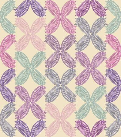 Abstract vector background. Graphically pastel shades seamless pattern.