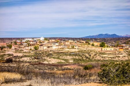 laguna pueblo town site in new mexico