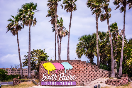 Scenes on south padre island Texas