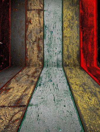 Photo for Shabby Wood Background - Royalty Free Image