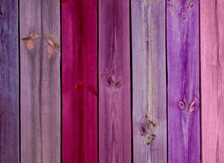 Colorful Wood Planks as Background