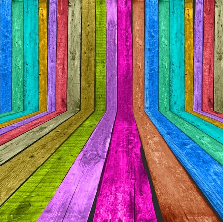 Multicolored Wooden Room
