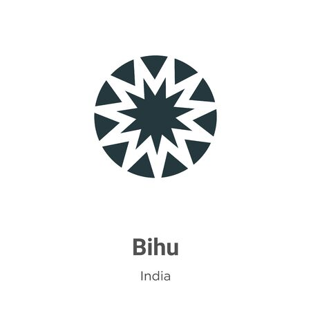 Illustration pour Bihu vector icon on white background. Flat vector bihu icon symbol sign from modern india collection for mobile concept and web apps design. - image libre de droit