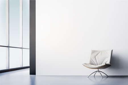 Photo pour 3d render of beautiful modern interior room - image libre de droit