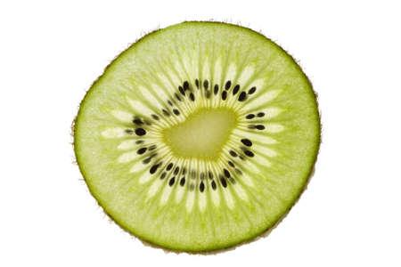 Kiwi in Scheiben geschnitten.