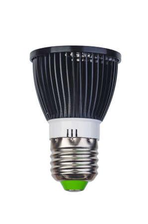 Photo for Spot led lightbulb with e27 (ES) base isolated on white background - Royalty Free Image