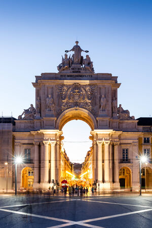 The Praca do Comercio (English: Commerce Square) is located in the city of Lisbon, Portugal. Situated near the Tagus river, the square is still commonly known as Terreiro do Paco