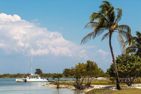 The beautiful and relaxing  island of Cayo Blanco in Cuba