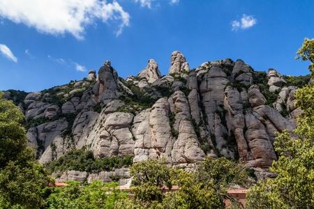 View of Montserrat mountains