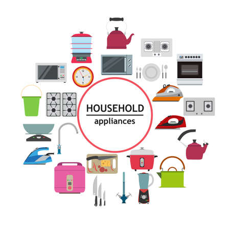 Household electrical kitchen appliance modern technology ... on basic electronic symbols, kitchen symbols, lighting symbols, residential electric symbols, residential drafting symbols, circuit symbols, heating and cooling symbols, carpentry symbols, electronic component symbols, household appliances, printable wiring diagram symbols, industrial wiring symbols, voice and data symbols, clothing symbols, tools symbols, bathroom symbols, residential wiring symbols, automotive symbols, wallpaper symbols, electronic schematic symbols,