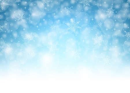 Horizontal Christmas Background - Illustration. Vector illustration of Christmas Background.