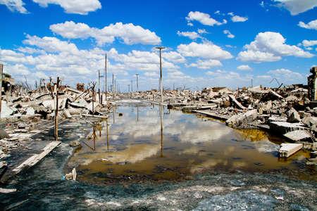 Epecuen  Dead City , Argentina