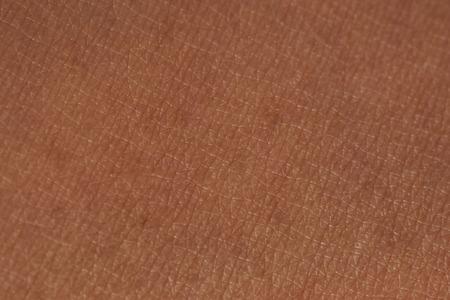 Photo pour Asian human dark skin texture close up view - image libre de droit