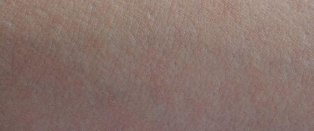 Photo pour Clean young human skin texture close up view - image libre de droit