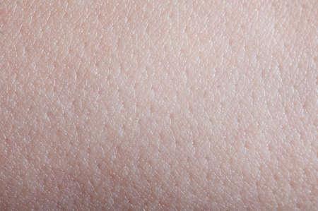 Photo pour White clean skin background macro close up view - image libre de droit